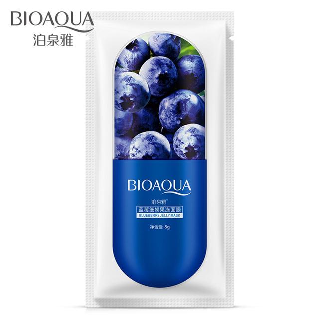 Blueberry  and Aloe Vera Sakura Moisturising Sheet Face Mask
