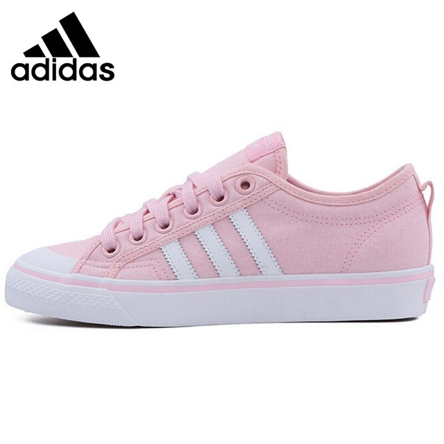 new arrival 012f4 c64ed Original New Arrival 2018 Adidas Originals NIZZA Womens Skateboarding  Shoes Sneakers-in Skateboarding from Sports  Entertainment on  Aliexpress.com ...