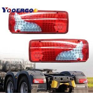 2 шт. 120 светодиодные задние фонари led грузовик прицеп для Scania Volvo DAF MAN Iveco