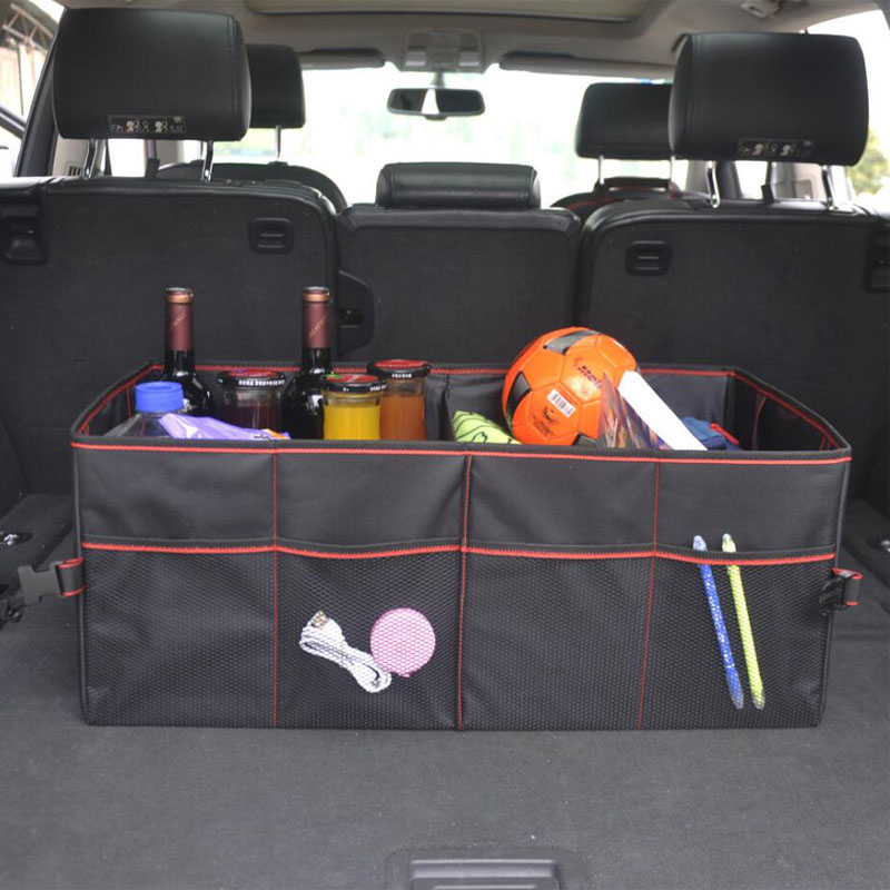 Car Organizer Trunk Collapsible Toys Food Storage Truck Cargo Container Car Stowing Tidying Rear Rack Storage Box Oxford Cloth in Stowing Tidying from Automobiles Motorcycles