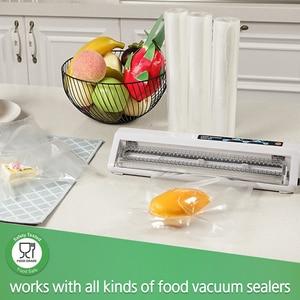 Image 5 - LAIMENG 5 Rolls Sous Vide Roll Bags For Vacuum Packing Machine Packaging Food Storage Vacuum Bags for Vacuum Sealer R129