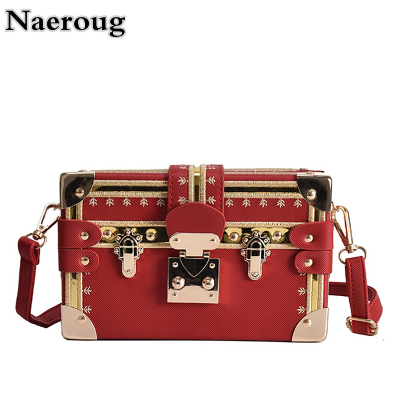 Luxury Handbag Famous Designer Women Box Shape Shoulder Bags Lady Evening Party Purse Clutch Metal Chain Messenger Crossbody Bag women designer leather smiley trapeze handbag luxury lady smiling face purse shoulder bag girl crossbody bag sac femme neverfull