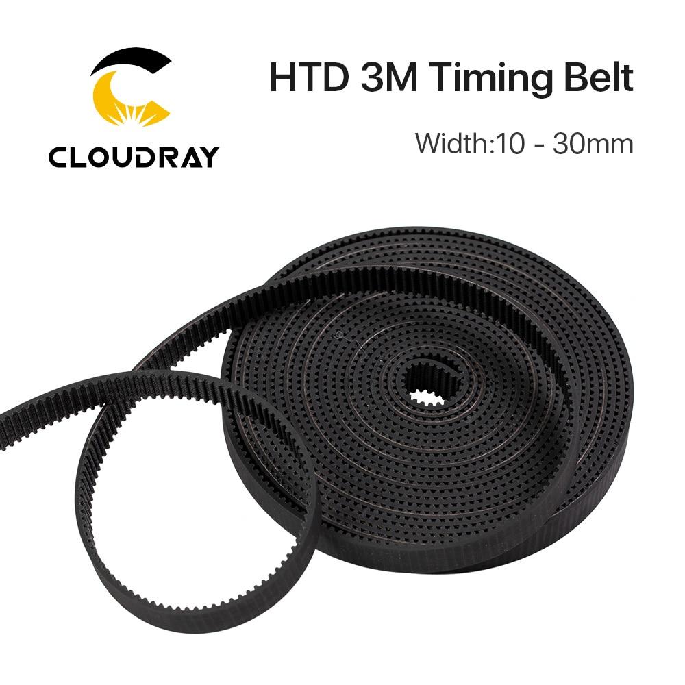 High Quality HTD3M PU Open Belt 3M 5mm - 40mmTiming Transmission Belt 3M Polyurethane For CO2 Laser Engraving Cutting Machine