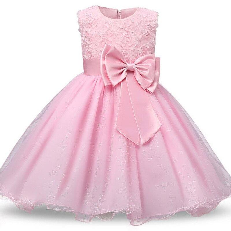 Kids Princess Flower Girl Dress Summer Children's Costume Teenager Prom Designs Tutu Wedding Birthday Party Dresses For Girls