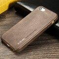 Envío gratis caja del teléfono de cuero para iphone 5 se 5s caso para el iphone 5s caso de la contraportada