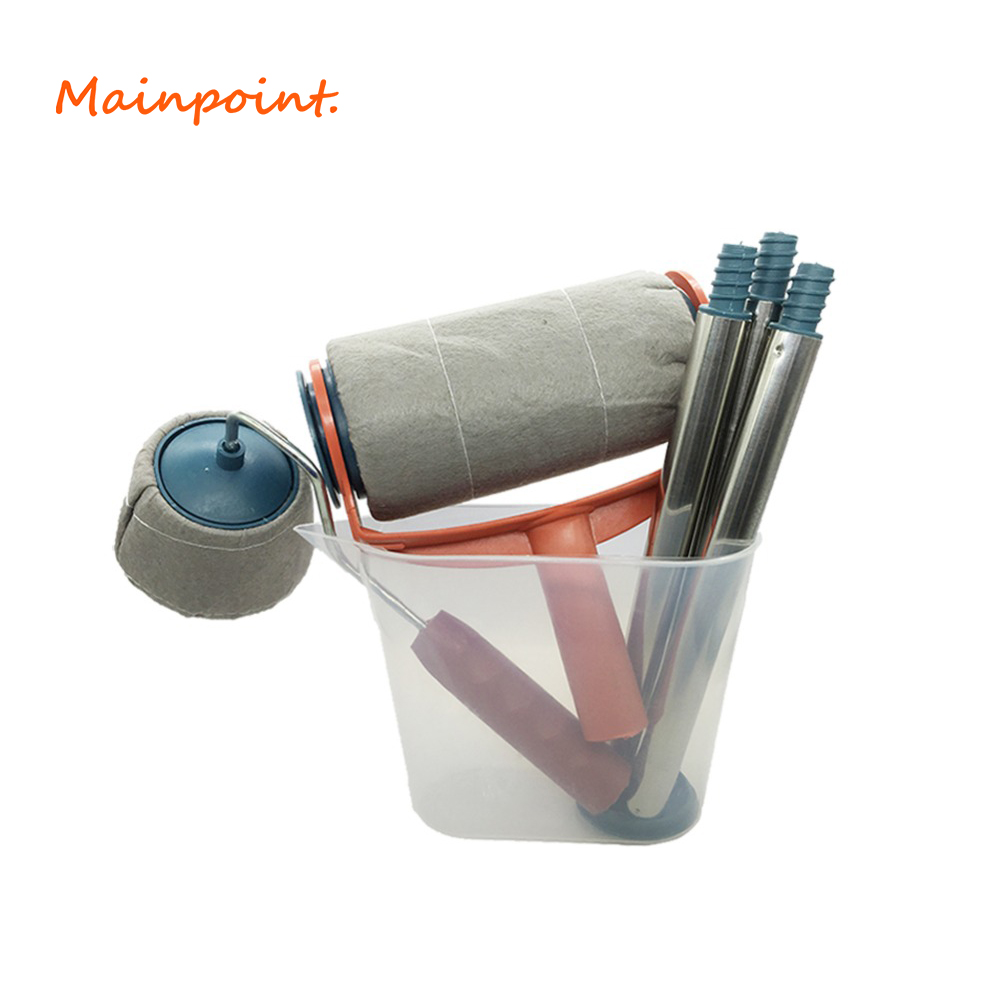 6Pcs/Set Paint Roller Brush Decoration Practical Painting Household Wall Tool Sets Painting Accessories Home Use Hand Tools