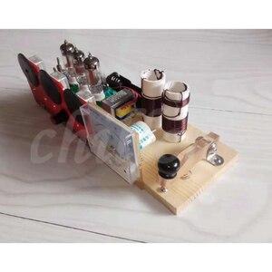 Image 4 - Electronic tube three lamp QRP station electronic tube radio transceiver 7.023 7.050 transceiver kits dual purpose