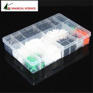 Image 2 - 620 Uds kit de modelo molecular de 9mm con caja, modelo de enseñanza de química orgánica para profesores y estudiantes en la escuela secundaria y la Universidad