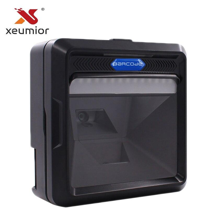 SM-8000 Laser Vertical À Plat Code À Barres Omnidirectionnel Scanner 1D 2D Intégré Bar Code Scanner Lecteur pour Supermarché POS