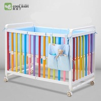 coolbaby baby bed Play Aluminum bed Adjustable delivery to Russia for free