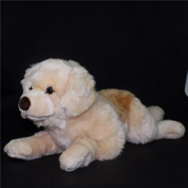 Cute  Labrador Big Plush Toy Lying Dog  Doll  Search And Rescue Stuffed  Toys Children Birthday Gift Pillow 45cm cute dog plush toy stuffed cute husky dog toy kids doll kawaii animal gift home decoration creative children birthday gift