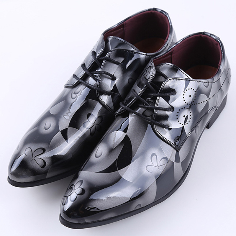 Men Shoes Genuine-Leather Casual Fashion Lace-Up 289 Explosion-Models Top-Quality Front