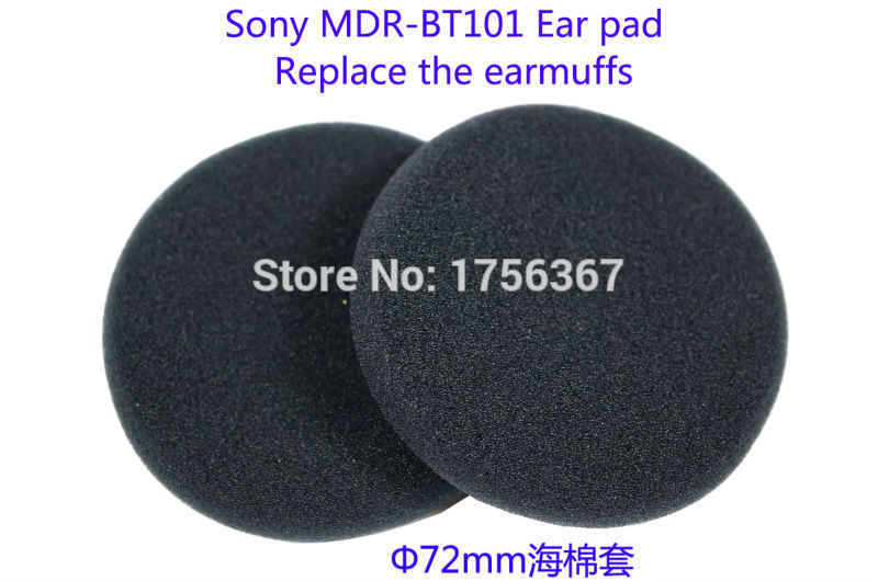 10 pair Ear pads replacement cover for SONY DR-BT101 Headphones(earmuffes/ headset cushion) Bluetooth headset earmuffes