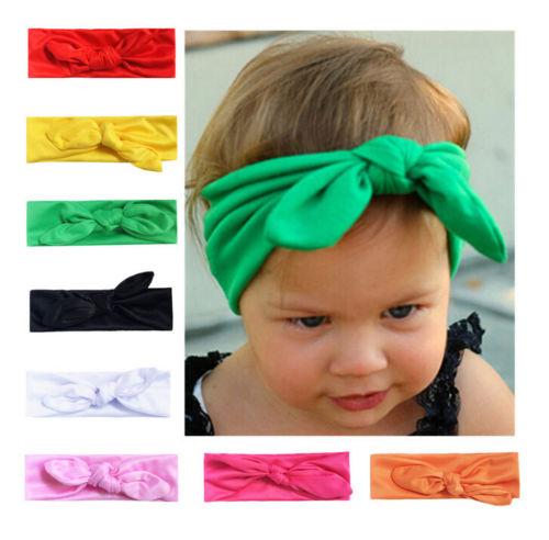 1pcs Cute Kids Girls Baby Toddler Flower Bow Headband Hair Band Headwear