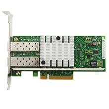 Para 10G Dual Port Adaptador de Servidor Ethernet PCIe X520-DA2 82599ES E10G42BTDA Frete Grátis