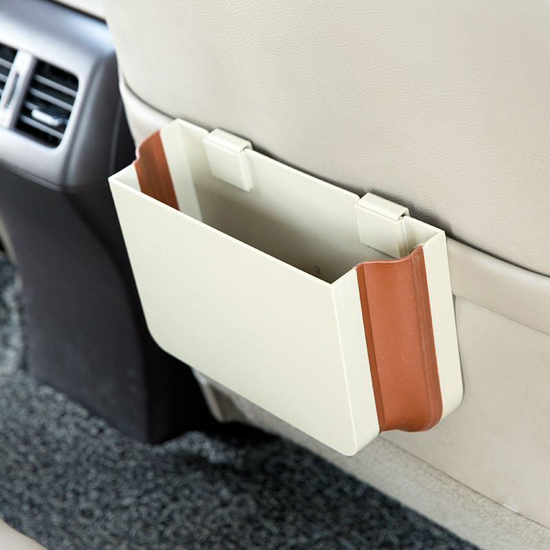 Storage bucket car back seat organizer storage box car-styli
