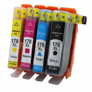 цены Ink Cartridges Replacement For HP178XL HP178 178XL 178 XL Deskjet 3070A 3520 3521 3522 3526 Officejet 4610 4620 Printer