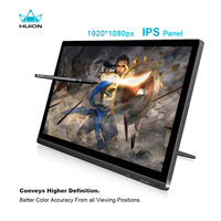 HUION KAMVAS GT 191 19.5 inch IPS Pen Display 8192 Levels Interactive Digital Graphic Drawing Monitor with Gifts