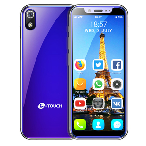 "Image 2 - תמיכת Google לשחק MTK6580 Quad Core אנדרואיד 8.1 3G smartphone 3.5 ""קטן מיני נייד טלפון 2GB RAM 16GB ROM כפולה ה sim K TOUCH"