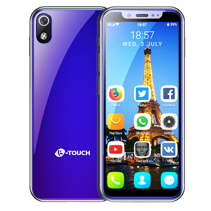 """Image 2 - Support Google play MTK6580 Quad Core android 8.1 3G smartphone 3.5"""" small mini mobile phone 2GB RAM 16GB ROM Dual sim K TOUCH-in Cellphones from Cellphones & Telecommunications"""
