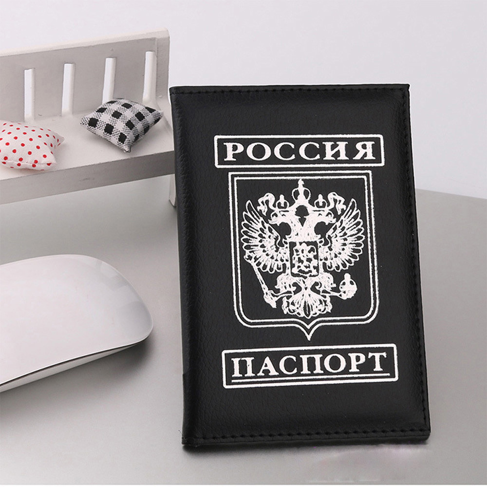 Fashion Men Women Artificial Leather Passport Holder Card Case Protector Cover wallets Bags Passport Cover ID Card Holder card holder bags 2018 new travel leather passport holder card case women protector cover wallet bag passport cover porte carte