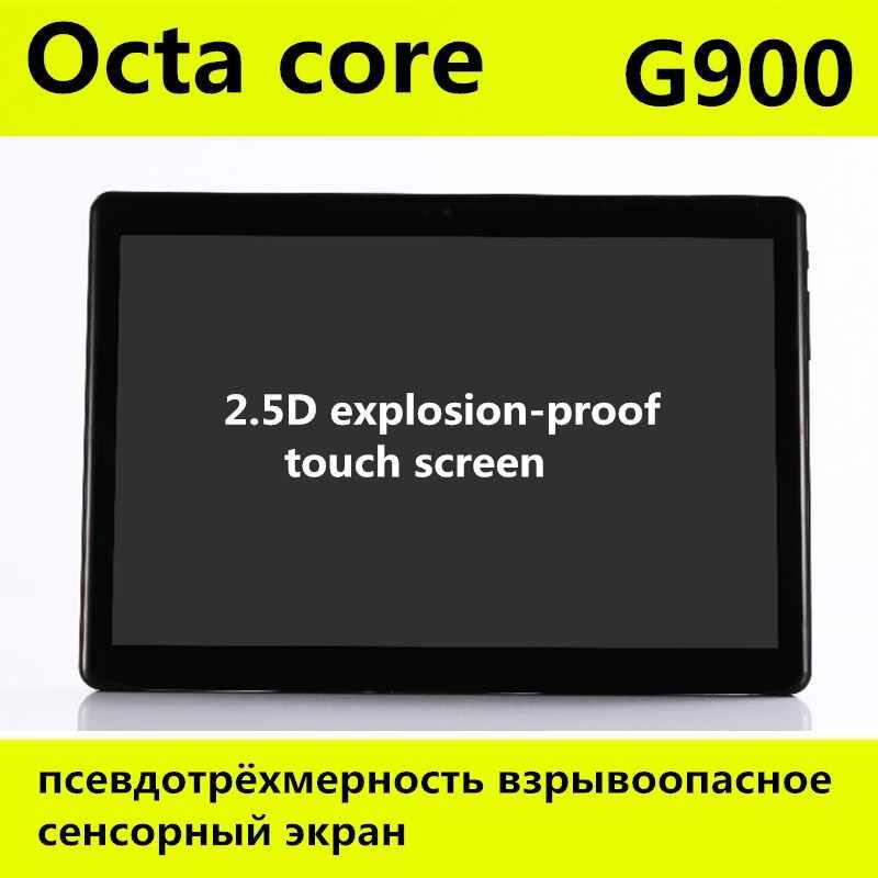 10 بوصة 3 جرام 4 جرام LTE اللوحي الثماني الأساسية IPS 4 جيجابايت RAM 128 جيجابايت ROM الروبوت 8.0 wifi بلوتوث GPS اللوحي 7 8 9 10.1 + هدايا 2.5D شاشة