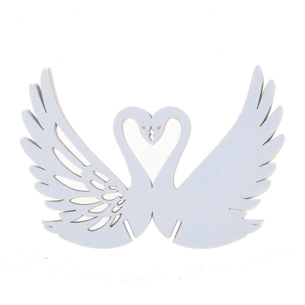Swan 480pcs Ivory Name Card Paper Table Wedding Cup Place Card ...