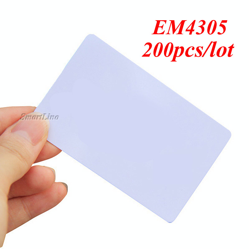 Humorous 200pcs/lot Rfid Access Card 125khz Copy Cards Re-writable 125khz Em4305 Rfid Chip Card Can Copy All The Id Card Back To Search Resultssecurity & Protection