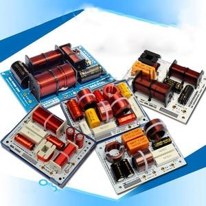 Image 1 - 1 PCS HiFi Audio Speaker 3 Unit Audio Frequency Divider Treble Midrange Bass 3 Way Crossover Filters 160W 180W 200W 320W