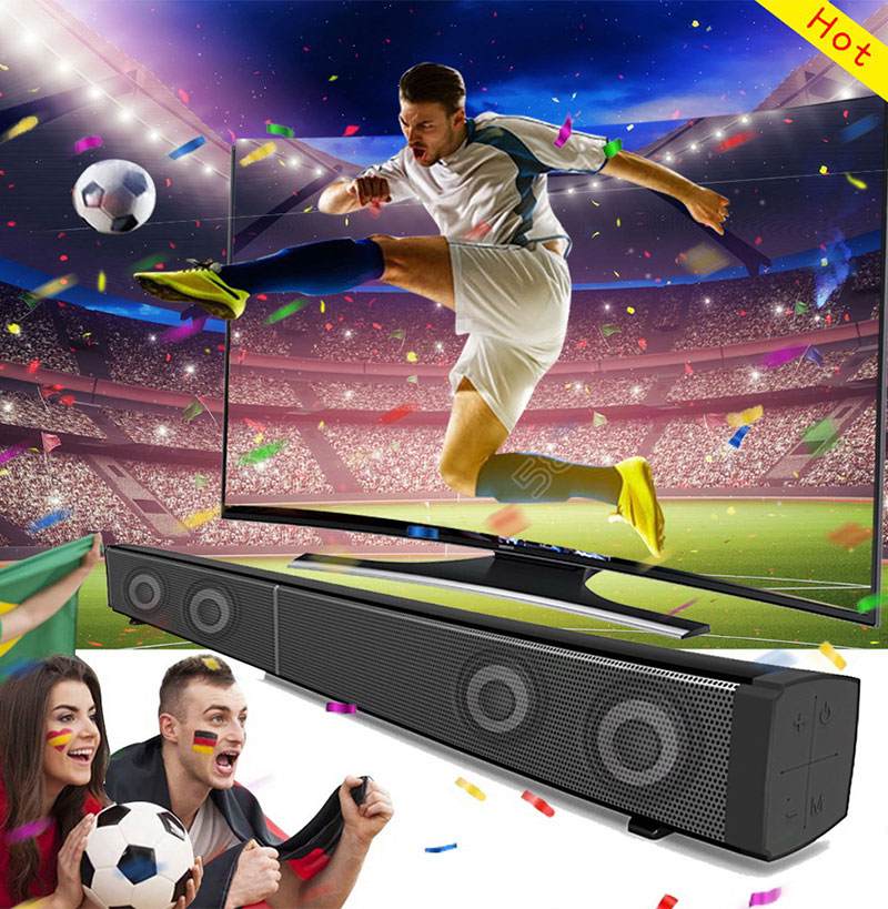 Bluetooth TV Soundbar Column Wireless Speaker Home Theater Surround Sound System Hang Wall Built-in 3D Stereo Remote Control AUX bluedio new as mini bluetooth speaker portable wireless speaker sound system 3d stereo music surround for music phone