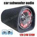 5 дюймов Автомобильный Сабвуфер Высокой Мощности 12 В 24 В 220 В авто Стерео Аудио с Пультом Дистанционного Управления Поддержка TF USB флэш-диск