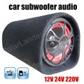 5 inch Car Subwoofer High Power 12V 24V 220V auto Stereo Speaker Audio with Remote Support TF USB flash disk