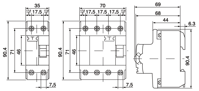 Earth leakage circuit breaker wiring diagram wiring automotive awesome 3 phase elcb circuit diagram gallery everything you need rhferryboatus earth leakage circuit breaker cheapraybanclubmaster Image collections