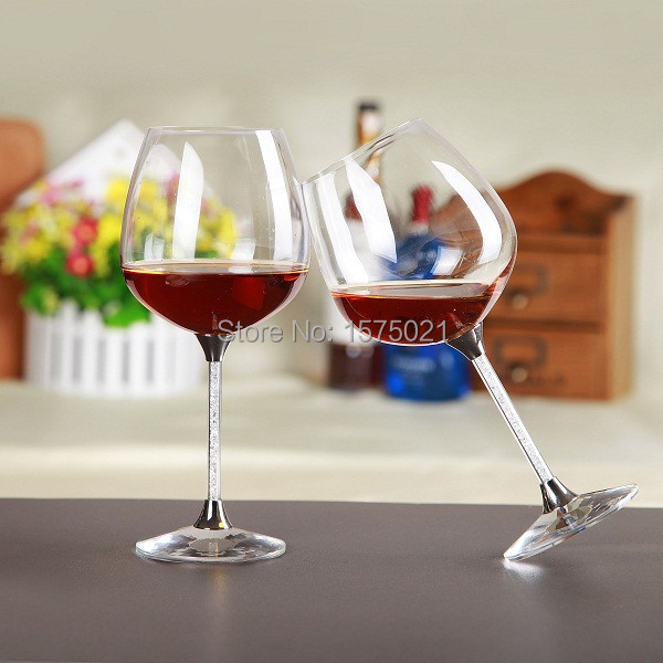 unique new design crystal 626ml drinking glasses