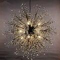 Современные подвесные светильники с G4 Светодиодный акриловый подвесной светильник светодиодный светильник для внутреннего освещения обе...