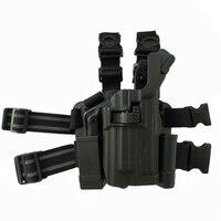 Tactical Light Bearing Beretta M9 92 96 92fs Pistol Leg Holster Airsoft Hunting Gun Carry Thigh Holster Right Handed