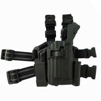 Tactical Light Bearing Beretta M9 92 96 92fs Pistol Leg Holster Airsoft Hunting Gun Carry Thigh