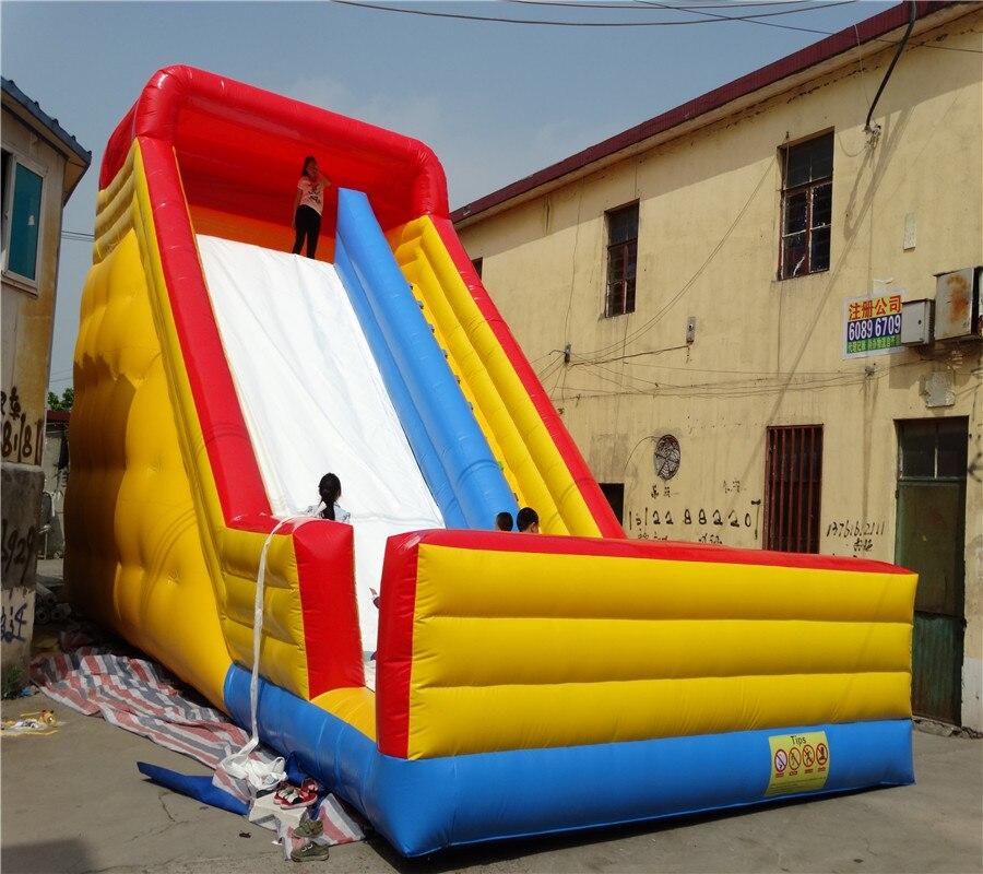 Lona de PVC diapositiva de gorilas inflables diapositivas niños de diapositivas populares trampolín diapositiva libre soplador
