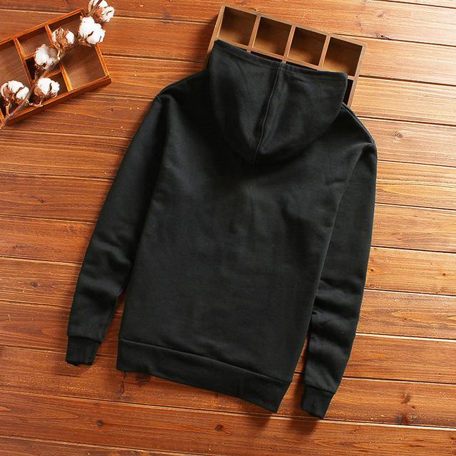 Mens 2018 Autumn Jacket Coat Hooded Male Jacket Fashion Thin Basic Jackets