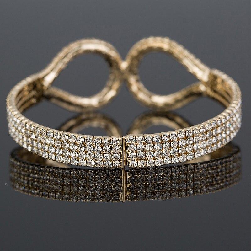YFJEWE New Fashion Luxury rhinestone ձեռնաշղթա - Նորաձև զարդեր - Լուսանկար 4
