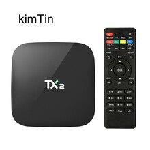 TX2 2GB 16GB Smart Android TV BOX 2019 BT2.1 Rk3229 Quad Cor