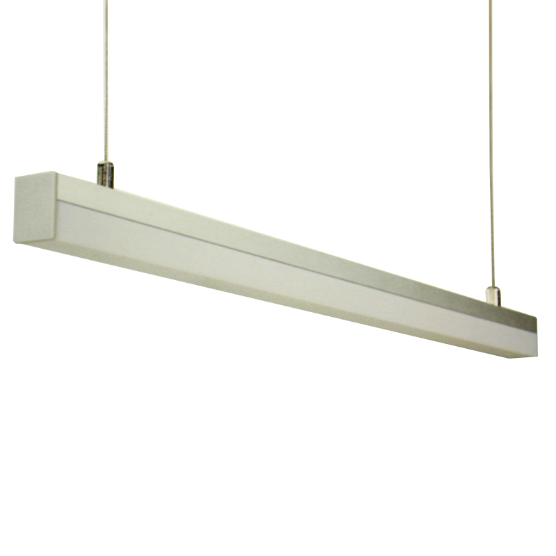 6st / pack LED aluminiumprofil Bar Light hänglampa 1m 144leds AC220V - LED-belysning