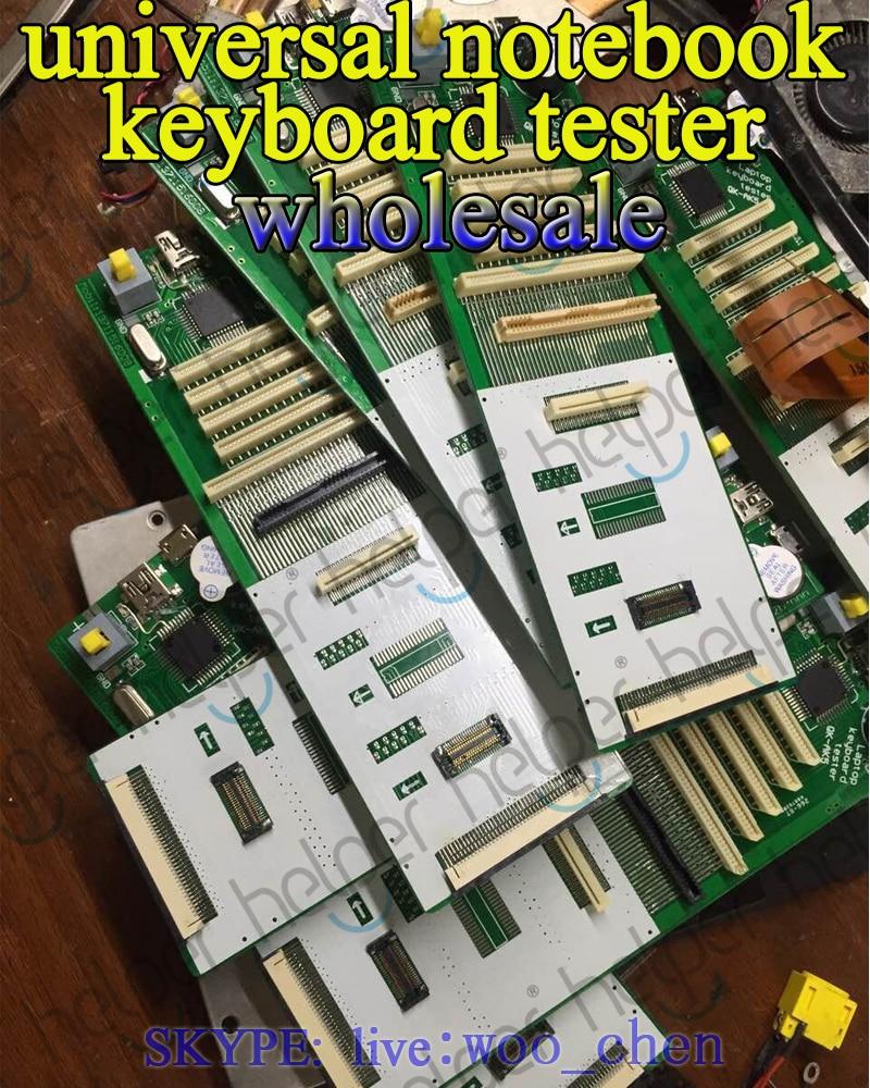 New Universal Laptop Keyboard Tester testing device machine Tool for more than 90% laptop keybaord AK-QK5 все цены