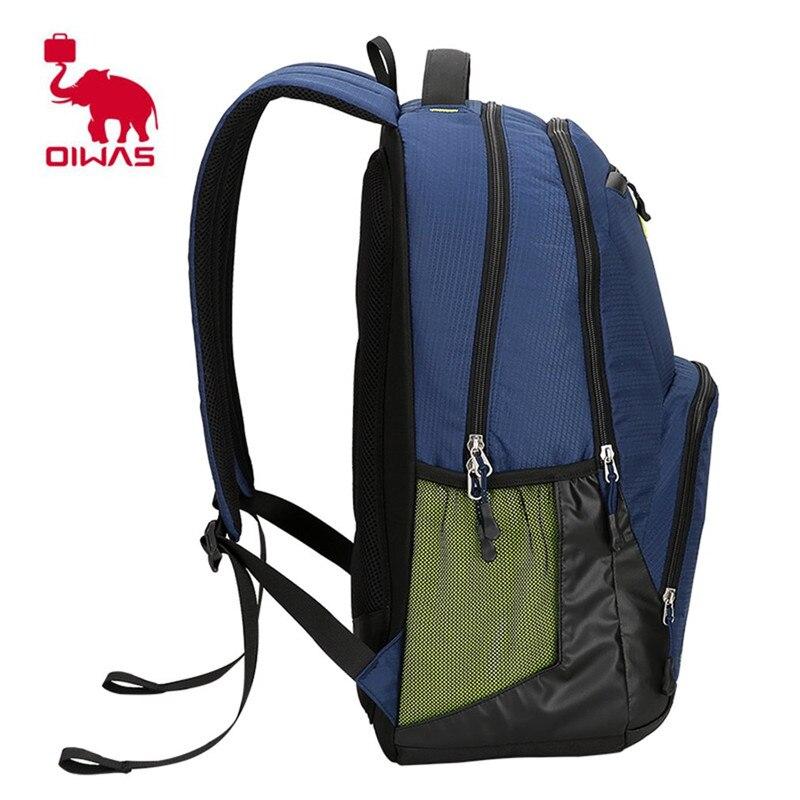 Oiwas 24L Leisure Style Laptop Business Men Backpack Waterproof Shock  resistant School Backpack Multi function Unisex Bags-in Backpacks from  Luggage   Bags ... 91c1ec72d6