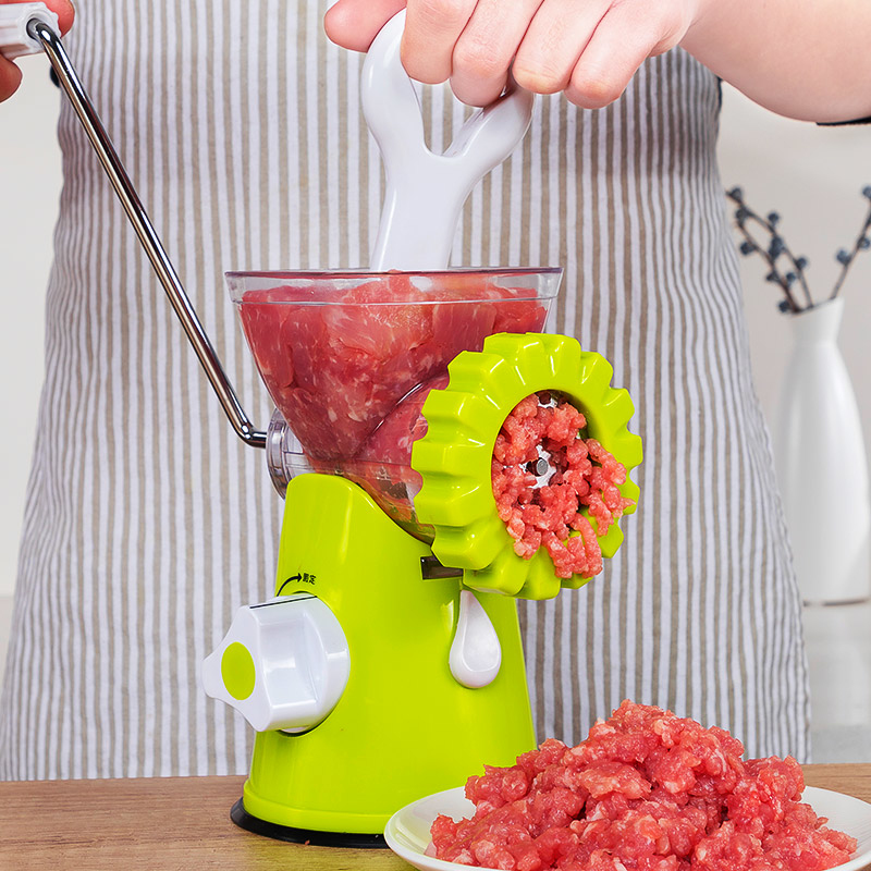 Multifunctional Meat Grinders Manual Sausage Gadgets Vegetables Chili Nut Cutter Meat Poultry Tools TN