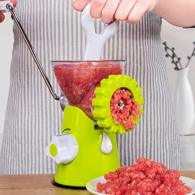 Broyeurs de viande multifonctions Gadgets à saucisse manuels légumes coupe noix Chili outils pour viande et volaille TN-in Hachoirs à viande from Maison & Animalerie    1