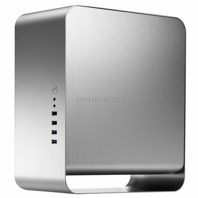2015 Desktop itx Aluminum Case Mini ITX htpc aluminium maletín de - Componentes informáticos - foto 2