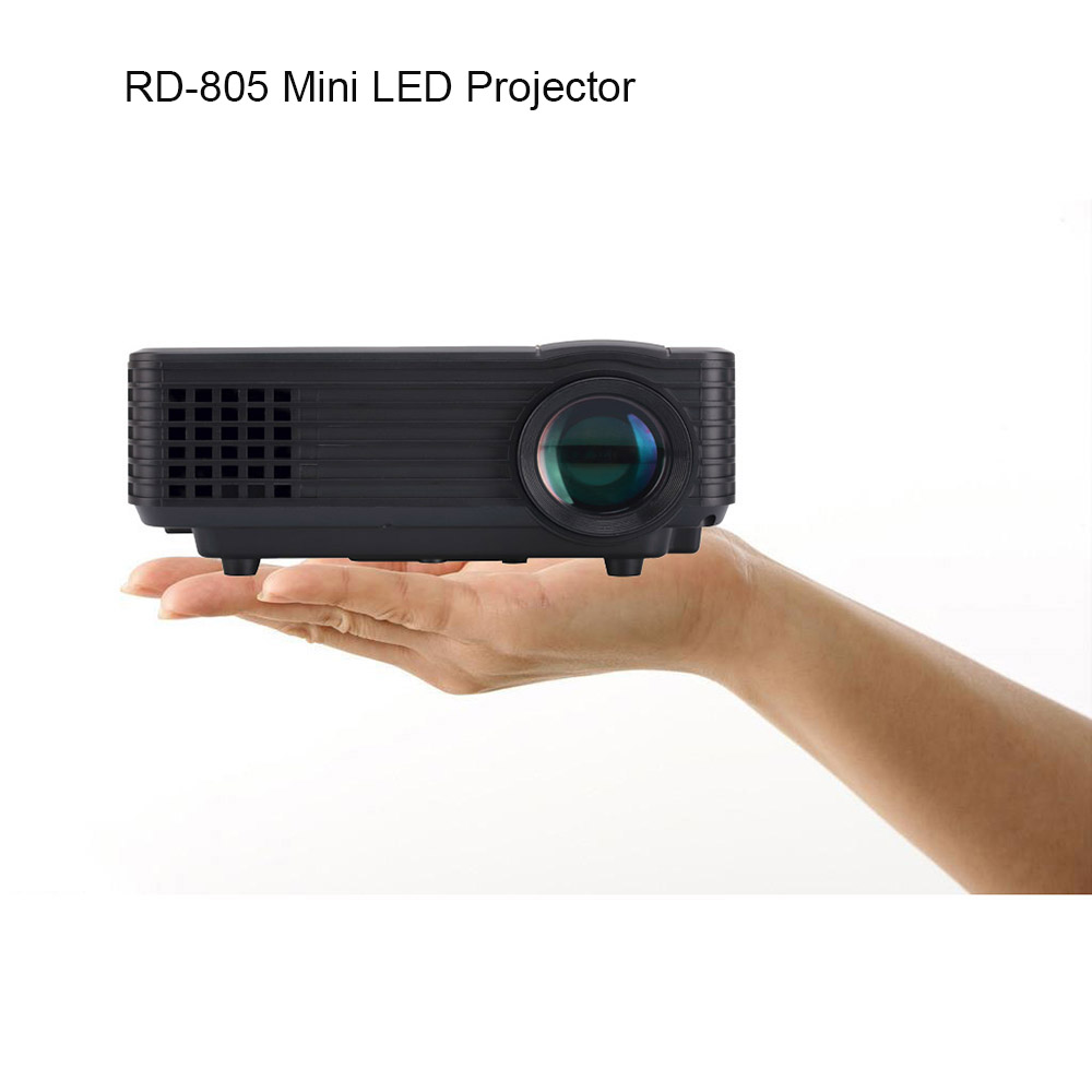 RD-805 Mini LED Projector HDMI Home Theater Beamer Multimedia Portable Proyector Support 1080P Video Projector Remote Control