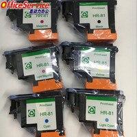 Cor Compatível cabeça de impressão Para hp hp 81 81 6  para Designjet 5000 5500 5500 ps  81 cabeçote de impressão  Cabeça Do Cartucho C4950A C4955A|compatible hp cartridges|color cartridgeshp color -