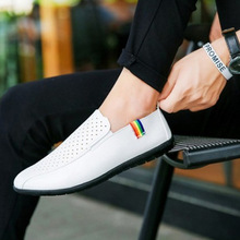 Casual business shoes breathable peas summer new mens sandals